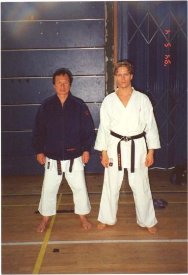 Keinosuke Enoeda & Torkel Karlsson