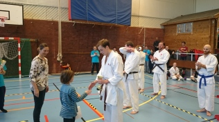 Kumite Silver Arnout Beckers